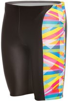 Speedo Flipturns Stripes Printed Jammer Swimsuit 8138491