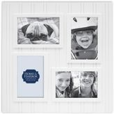 Bed Bath & Beyond Wainscot 4-Opening Picture Frame in White