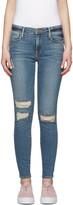 Frame Indigo Le High Skinny Jeans