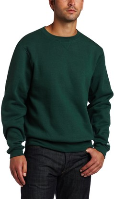 MJ Soffe Soffe Men's Training Fleece Crew Sweatshirt Black Small