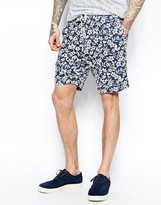 Universal Works Shorts In Floral Print