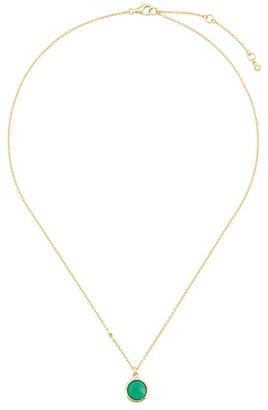 Astley Clarke Green Onyx Stilla pendant