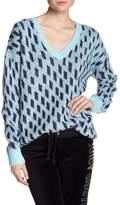 Juicy Couture Belarus Gro Print Sweater