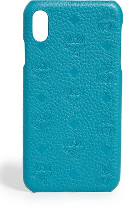 MCM Tivitat Leather iPhone XS Max Case