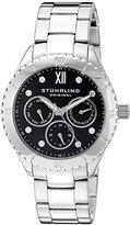 Stuhrling Original Women's 549.02 Symphony Regent Gala Quartz Day and Date Stainless Steel Bracelet Watch