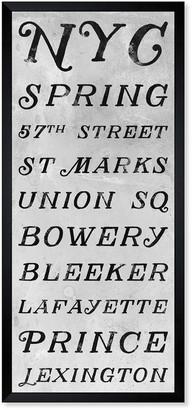 Oliver Gal New Yorks Big Names Inverted