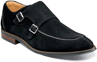 Stacy Adams Balen Moc Toe Double Strap Monk Shoe