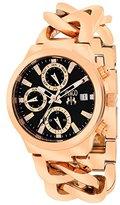Jivago Women's JV1243 Analog Display Swiss Quartz Rose Gold Watch