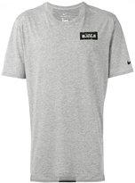 Nike tiger back print T-shirt - men - Cotton/Polyester/Viscose - S