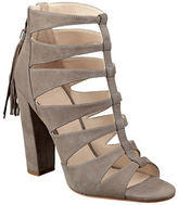 Marc Fisher Hindera T-Strap Suede Sandals