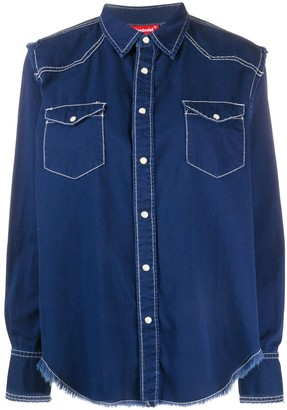 Denimist Chest Pockets Denim Shirt