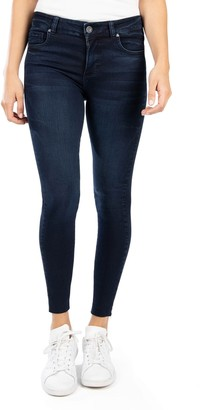 KUT from the Kloth Connie High Rise Ankle Cut Jeans