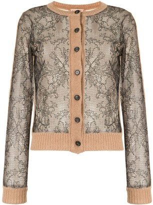 No.21 Floral Lace Cardigan