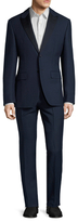 Valentino Wool Peak Lapel Suit