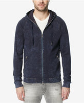 Buffalo David Bitton Men's Kawash Indigo Zip-Front Hoodie