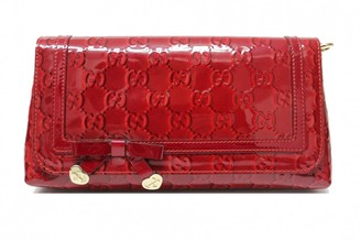 Gucci Red Patent leather Clutch bags