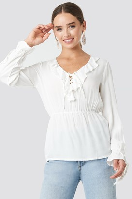 Trendyol Yol Frilly Blouse