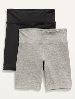 Old Navy 2-Pack Go-Dry Biker Shorts for Girls
