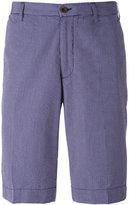 Canali check pattern shorts