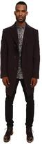 Vivienne Westwood Classic Melton Asymmetric Coat