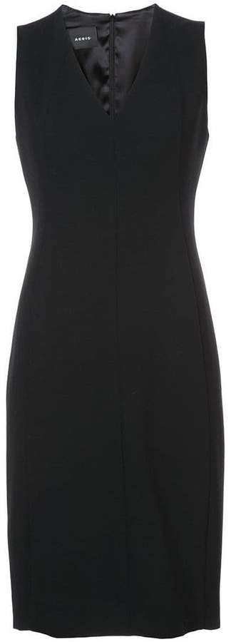 Akris v-neck dress