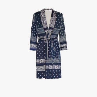 Children Of The Discordance Bandana Patch Robe Coat