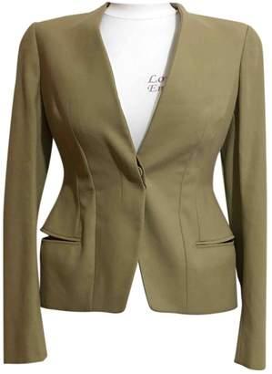 Alexander McQueen Beige Cotton Jackets