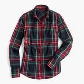 J.Crew Tall perfect shirt in Stewart plaid