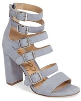 Sam Edelman Women's Yasmina Buckle Strap Gladiator Sandal