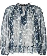 Ulla Johnson round neck floral print blouse