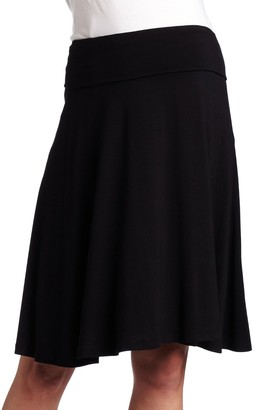 Maternal America Women's Maternity A-Line Skirt