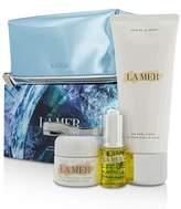 CrÈme De La Mer Sensorial Sensations Set: The Renewal Oil 15ml + The Moisturizing Cream 30ml + The Body Creme 200ml +Bag