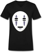 No Face Shop866 No Face Pre-cotton V Shirt Man's T shirts