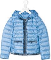 Moncler Kamaria jacket - kids - Feather Down/Polyamide - 4 yrs