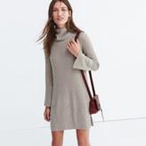 Madewell Bell-sleeve Turtleneck Sweater-Dress