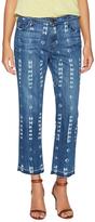 Current/Elliott The Crop Cotton Straight Jean