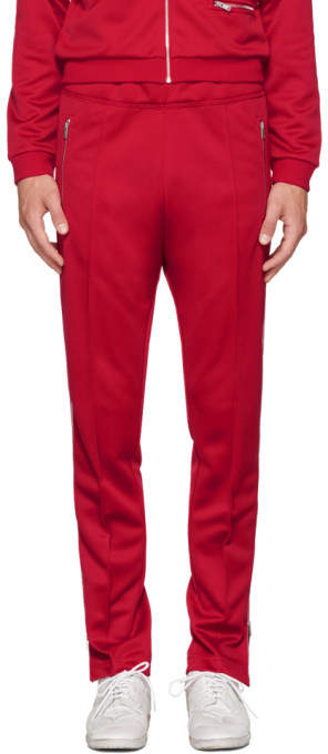 Maison Margiela Red Track Pants