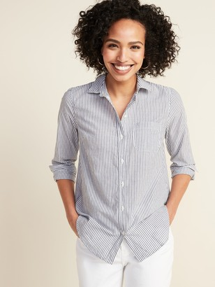 Old Navy Classic Button-Front Shirt for Women
