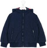 Kenzo hooded bomber jacket - kids - Polyamide/Polyester - 2 yrs
