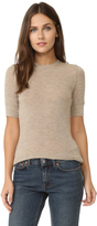 Vince Short Sleeve Crew Neck Top