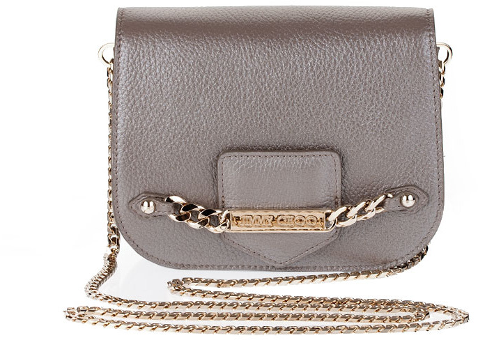 Jimmy Choo Shadow deerskin cross body bag