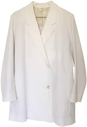 Cos White Cotton Jacket for Women