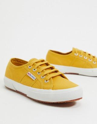 Superga 2750 cotu classic trainers in yellow