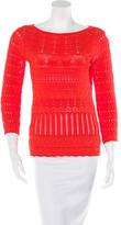 Roberto Cavalli Knit Long Sleeve Top