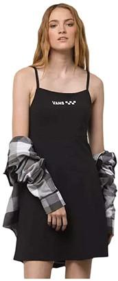 Vans Meadowlark Skater Dress (Black) Women's Clothing