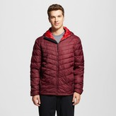 Champion Men's Puffer Jackets Rich Maroon S