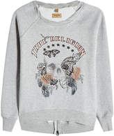 True Religion Embroidered Sweatshirt with Cotton