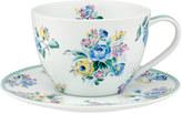 Cath Kidston Highgate Rose Breakfast Cup & Saucer