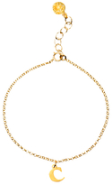 Dogeared 14ct Gold Plated Sterling Silver Love Letter Chain Bracelet