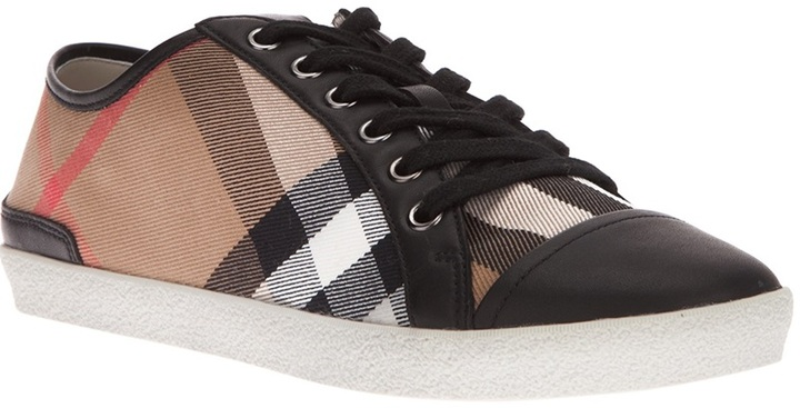 Burberry 'Nova' lace up trainer